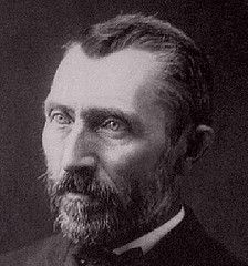Vincent van Gogh   photograph in Brussels, Belgium by Victor Morin, 1886