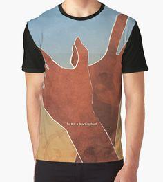 """Harper Lee - To Kill a Mockingbird"" Graphic T-Shirts by RedHillPrints | Redbubble"