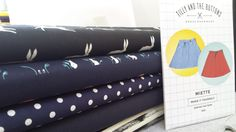 The Miette with so many cute fabrics!