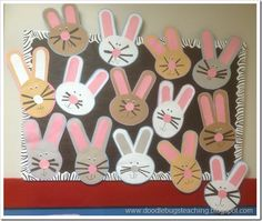 Bunny craft. Free download.