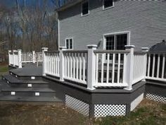 gray and white decking - Bing Images