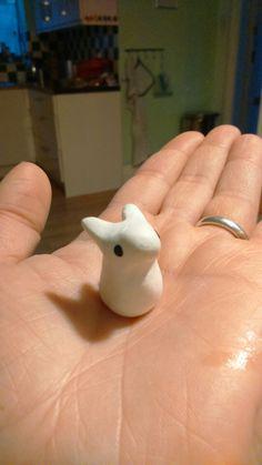 Little rabbit, polymer clay