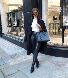"✨Fashion # & # Lifestyle✨ # ""Alice-Olivia # ❤ ¸ … – Closet Winter Fashion Outfits, Look Fashion, Fall Outfits, Luxury Fashion, Womens Fashion, Autumn Fashion Classy, Fashion Dresses, Luxury Lifestyle Fashion, Net Fashion"