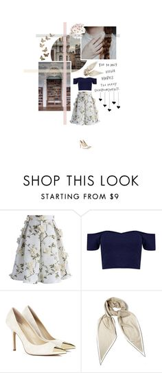 """""""Emerge Victorious [tagged]"""" by misstulane ❤ liked on Polyvore featuring INDIE HAIR, Chicwish, Sole Society and Hermès"""