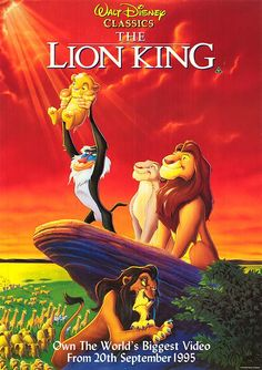 The Lion King (1991) Lion cub and future king Simba searches for his identity. His eagerness to please others and penchant for testing his boundaries sometimes gets him into trouble.