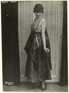 Callot evening gown. (1915)