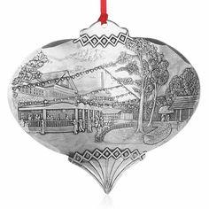 Kennywood Fall Fantasy Ornament by Linda Barnicott