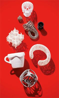 3-D printing and how it's sparking new business ideas.