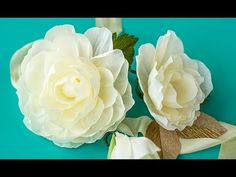 How To Make A Crepe Paper Flower