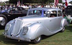 STRANGE OLDE CLASSIC AUTOMOBILES - 1938 PANHARD DYNAMIC