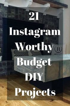 Ready to live life like an Instagram star? Give your home a whole new feel with these fabulously simple diy projects.#diy #instagram #instaworthy #budget #diyhomedecor #diyhometalk #diybudgetdecor #diydecor #budget #decor Diy Projects For Men, Diy For Men, Diy On A Budget, Decorating On A Budget, Teen Bedroom Crafts, Uses For Dryer Sheets, Instagram Worthy, Instagram Life, Color Changing Led