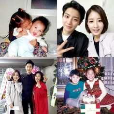 Chanyeol & his sister Park Yoora - she's sooo pretty