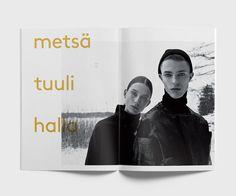 Lumi FW15 brochure. Graphic design by Aivan.
