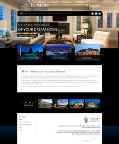 This is a mock up of probably the classiest luxury website using the Ubertor platform. It looks way better live so please click and visit. This website is part of our website rental program. We add the listings, blog, maintain and update it for a monthly fee and the Realtor gets the leads.