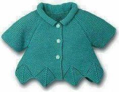 Ravelry: sofiecat's Pink bloss Cardigan Bebe, Knitted Baby Cardigan, Knitted Baby Clothes, Knitting For Kids, Baby Knitting Patterns, Crochet Girls, Crochet Baby, Knit Vest Pattern, Pull Bebe