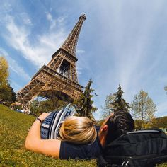 Photo of the Day! No better way to spend an afternoon in than cuddling next to the # by gopro Gopro Photography, Paris Photography, Couple Photography, Travel Photography, Tour Eiffel, Torre Eiffel Paris, Paris Pictures, Paris Photos, Paris Travel