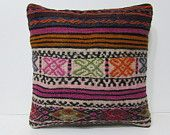 20x20 kilim pillow 20x20 large accent pillow large kilim rug oversized cushion large pillow case big pillow cover euro throw pillow 25114