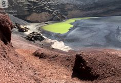 El Golfo, Green Lagoon, Lanzarote [Getty Images] | Flickr - Photo Sharing!