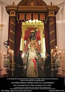 El Rincón Cofrade: Velez- Malaga. Triduo a Maria Stma de la Esperanza...