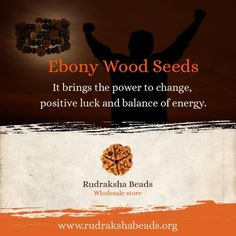 Ebony is useful in seeking spiritual knowledge and exploring emotion and intuition. To know more please visit http://rudrakshabeads.org/ #Rudrakshabeads #Spirituality