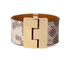 Leighelena Wide Jigsaw Bracelet