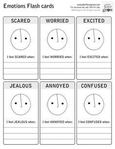 Emotions flashcards 2