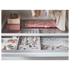 Plan your dream walk-in closet - IKEA Pax Corner Wardrobe, Pax Wardrobe, Ikea Wardrobe Inserts, Ikea Komplement, Armoire Pax, Pax System, Trouser Hangers, Mirror With Hooks, Ikea Family