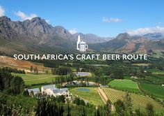 South Africa's Craft Beer Route with map South Africa Map, Out Of Africa, Africa Craft, Continents, Craft Beer, Things To Do, Crafts, Header, Adventure Travel