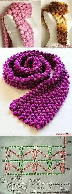 Web de Crochet, Dos Agujas, tutoriales, patrones, consejos de tejido