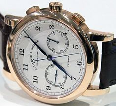 A. Lange & Sohne 1815 Chronograph Watch   watch releases
