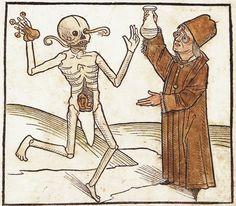 Danse macabre : Doten Dantz mit Figuren