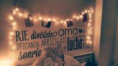 Master bedroom. #dormitorio #decoracion #luces #fotos