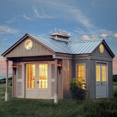 Liberty Custom Garden Cottage. Cabin kits for sale