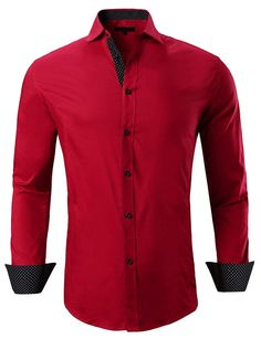 Product DescriptionBoth men and women have looked to this outfitter for clothing that is comfortable and timelessly stylish.C brings comfortable ele Casual T Shirts, Casual Button Down Shirts, Men Casual, Mens Flannel Shirt, Red Shirt, Shirt Men, Thing 1, Henley Shirts, Long Sleeve Shirts