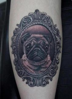 This will be my first tatoo! A  pug tattoo! ♥