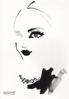 miyuki ohashi drawing etcetra — Miranda Kerr  »instagram