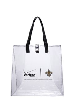 Totally Clear Stadium Roved Tote