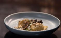 Matt & Luke's Duck Ravioli with Wild Mushroom Sauce Dried Mushrooms, Stuffed Mushrooms, Deep Frying Pan, My Kitchen Rules, Large Oven, White Truffle, Egg Whisk, Mushroom Sauce, Latest Recipe