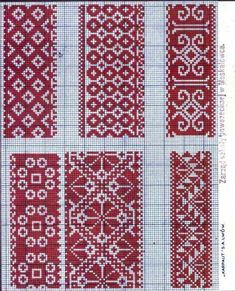 geometric cross stitch patterns - Google Search