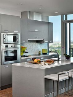Small Kitchen Ideas For Apartement ~ http://www.lookmyhomes.com/best-small-kitchens-design-ideas-20-image/