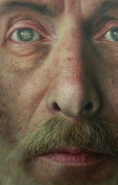 Hyperrealistic Portrait Paintings by Joongwon Jeong
