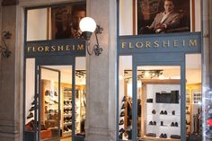 Florsheim _ New concept store in Rome _ Design by AF