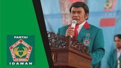 Partai Idaman Kota Lubuklinggau, Muratara dan Musi Rawas dikukuhkan Rhoma