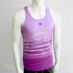 Tank Top PANTÍN (Púrpura). Camiseta de tirantes (Tank Top) oficial PANTIN CLASSIC PRO, evento 27 en color púrpura. Tank Tops, Classic, Women, Fashion, Purple Colors, Suspenders, T Shirts, Puppet, Derby