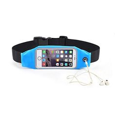 Running Flip Fitness Workout Belt Money Belt Waist Pack for Jogging Gym Workouts Walking Exercise Hiking Outdoor Travel iPhone SE 6S Plus 6 Plus 6S Galaxy S7 S7 Edge * Want additional info? Click on the image. (Note:Amazon affiliate link)