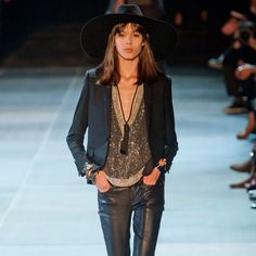 Saint Laurent Paris Spring 2013: Check out all the pictures from the Saint Laurent Paris Spring 2013 collection, and come back soon for our full review.