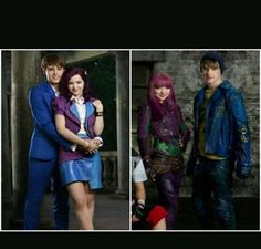 Wow Mal and Ben got older fast hahaha love this photo of them from descendants to descendants 2 Descendants Mal And Ben, Descendants 2015, Descendants Wicked World, Disney Channel Descendants, Descendants Characters, Disney Stars, Disney Love, Disney Xd, How Do I Live