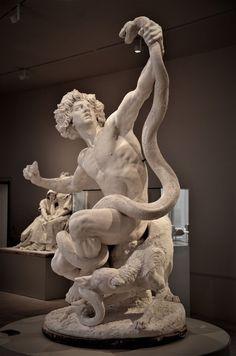 Ancient Greek Sculpture, Greek Statues, Angel Statues, Buddha Statues, Photo Statue, Sculpture Romaine, Roman Sculpture, Metal Sculptures, Abstract Sculpture