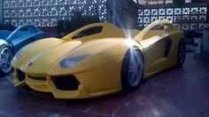 CAR BED DREAMS  LAMBO