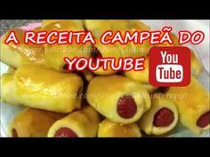 Enroladinho de Salsicha Fácil e Rápido O Mais Famoso do Youtube! Por Culinariaterapia - YouTube
